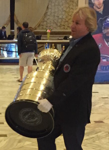 Philip Pritchard white gloves Stanley Cup
