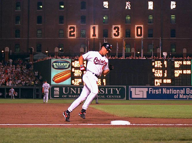Cal Ripken Jr. 2130 Consecutive Game streak