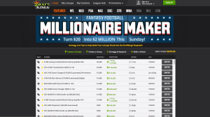 Draft Kings Lobby